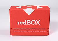 Коробка Новая почта Red Box  (рэд Бокс 0,5 кг )