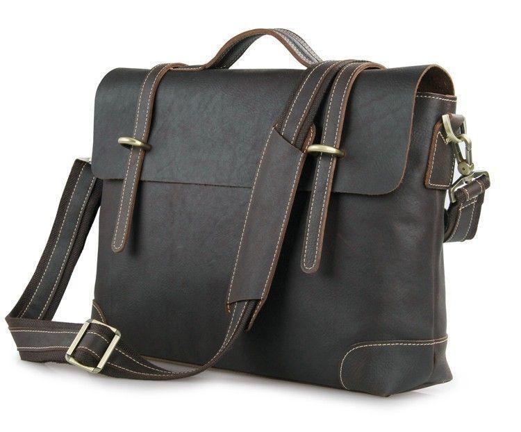 Деловая сумка-портфель для ноутбука John McDee 7082Q