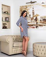 Платье-рубашка летнее короткое в полоску, фото 1