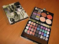 Набор для макияжа Палитра теней MAX MAR 03 в пенале матовые и перламутровые тени + пудры+румяна, фото 1
