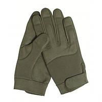 Перчатки, искусственная кожа/эластан MilTec Olive 12521001