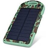 Зарядное устройство от солнца Solar Power Bank 5000mAh (YD T011). Хаки, фото 2