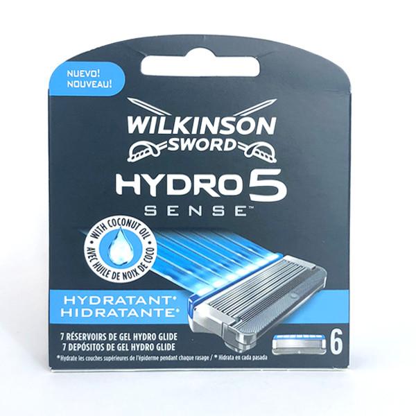Картриджи для бритья Wilkinson Sword (Schick) Hydro 5 Sense Hydratant (6 шт.) 01139