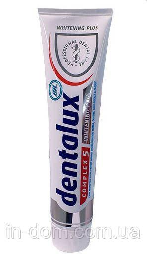 Dentalux Complex 5 Plus отбеливающая зубная паста 125 мл