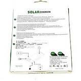 Зарядное устройство от солнца Solar Power Bank 5000mAh (YD T011). Хаки, фото 4