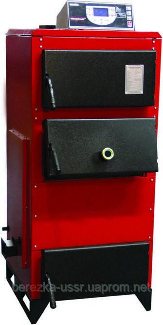 Твердотопливный котел длительного горения Термодинамик (Termodinamik) TBK-100 B (100 кВт, с контуром ГВС)