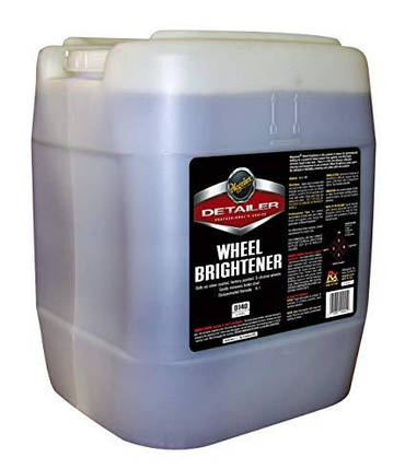 Концентрат для чистки колесных дисков - Meguiar's Detailer Wheel Brightener 18,93 л. (D14005), фото 2