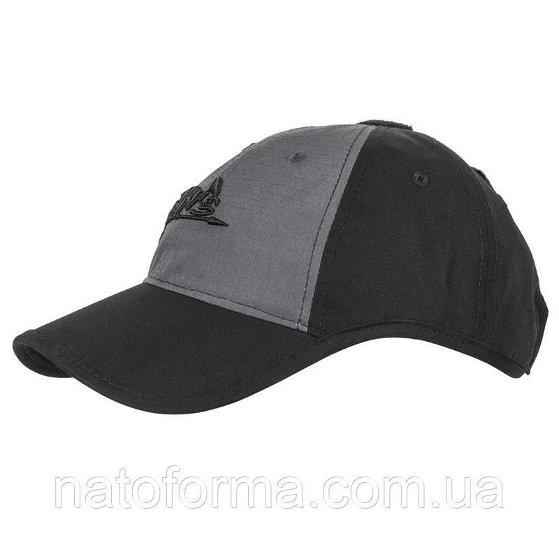 БейсболкаHelikon-Tex Logo Cap Black/Shadow Grey