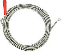 Трос спиральный для очистки канализационных труб 1,5м x 5мм Top Tools 34D301.