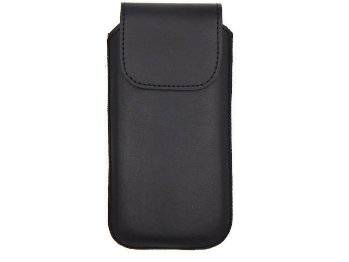 Чехол-вытяжка с хлястиком Best Case для телефонов универсальный 126*55*15 черный