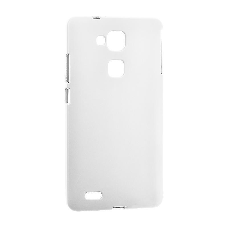 Original Silicon Case Huawei Y7 (2019) White