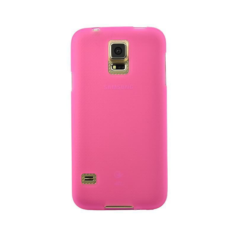 Original Silicon Case Samsung A405 (A40) Pink