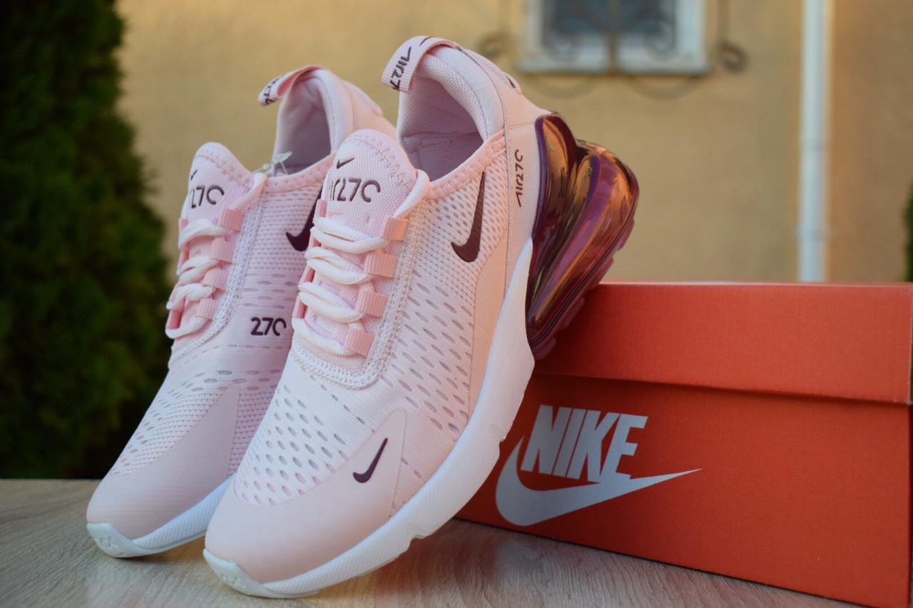 26a05150 Мужские кроссовки Nike Air Max 270 в стиле Найк Аир Макс, сетка, текстиль,