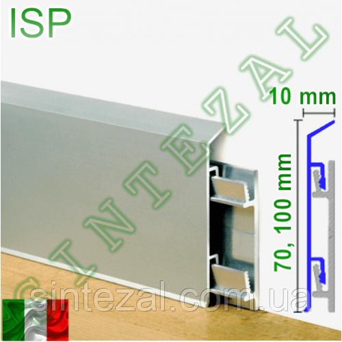 Алюминиевый плинтус для пола Progress PROSKIRTING ISP.