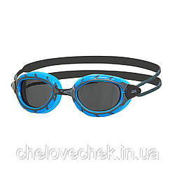 Очки для плавания Zoggs Prenator smoke/M. Gun metal