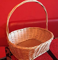 Корзинка для подарков овальная с крепким дном