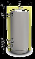 EAM-00-1000 с изоляцией 100 мм аккумуляторный бак (буферная емкость)