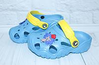 Кроксы для мальчика голубые, фото 1