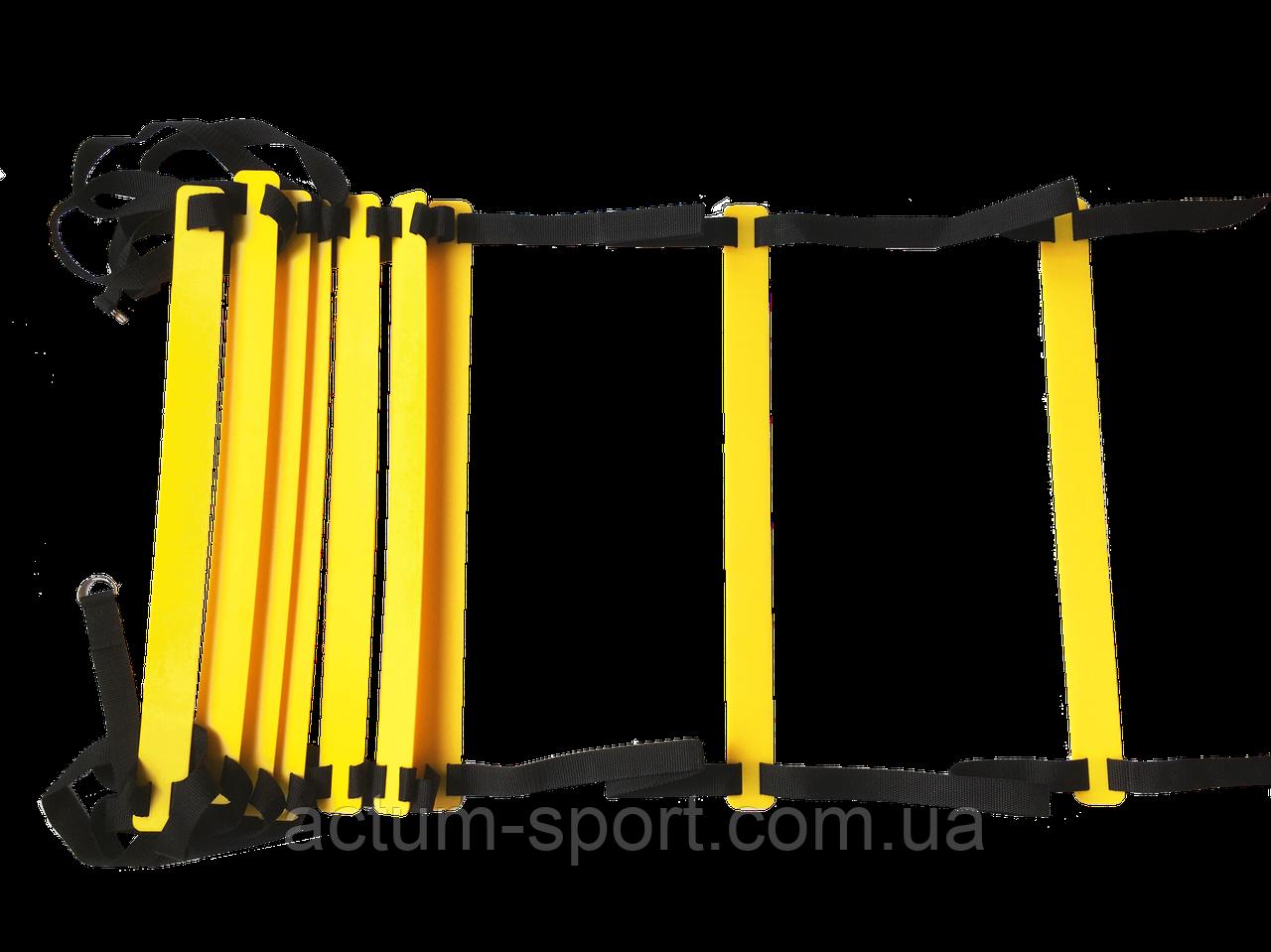 Координационная лестница, скоростная дорожка Speed ladder 6 ступеней