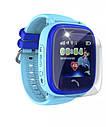 Детские Водонепроницаемые часы с gps Q300S (Q100 aqua) голубые, фото 3