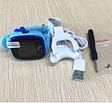 Дитячий Водонепроникний годинники з gps Q300S (Q100 aqua) блакитний, фото 5