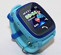 Детские Водонепроницаемые часы с gps Q300S (Q100 aqua) голубые, фото 2
