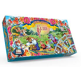 Настольная игра Danko Toys Домино детское Казки (Укр) (DT G44-К)