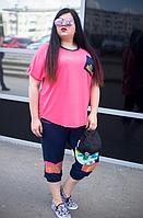 Трикотажний костюм для великих жінок, з 48 по 98 розмір, фото 1