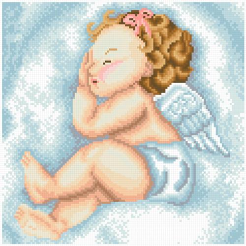 АМП-116. Набір алмазної мозаїки Ангельський сон.