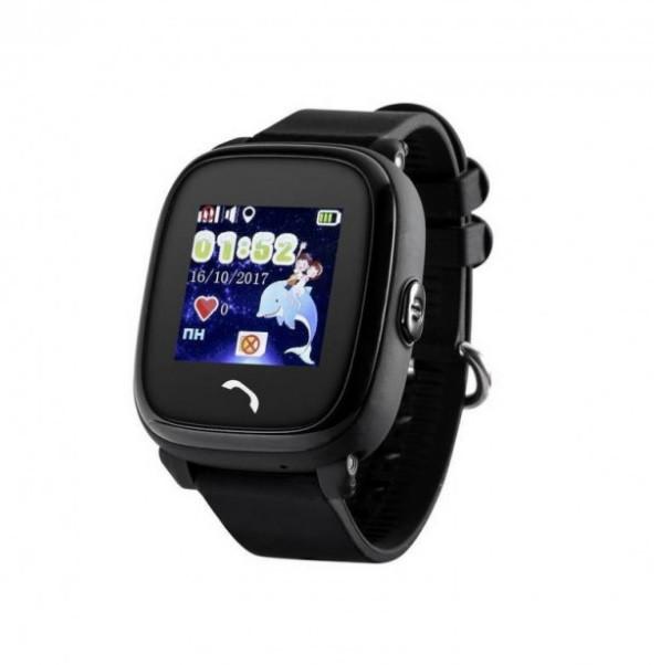 Детские Водонепроницаемые часы с gps Q300S (Q100 aqua) черный