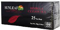 Чай черный SunLeaf Ceylon Dimbulla 25п.
