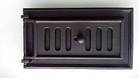 Чугунная печная дверка зольника (люк для золы) с притоком воздуха