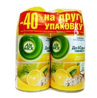 Сменный баллончик для АIRWICK лимон+женьшень 2шт по 250мл (-40% на второй)