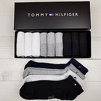 06c481671f44b Набор укороченных мужских носков TOMMY HILFIGER 9 пар в фирменной коробке