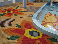 Противоскользящее покрытие для бассейна, душевых, саун и бань, аквапарков, раздевалок