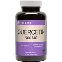 Кверцетин 60 капс 500 мг  от аллергии, антигистаминные препараты MRM USA