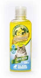Шампунь Аристократ против блох с экстрактом чистотела для котов 200 мл