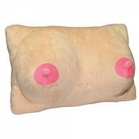 Подушка БЮСТ телесная, фото 1
