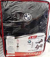 Чехлы в салон BMW 3 E46 1998-2006 (з/сп.цельная) EMC Elegant, фото 1