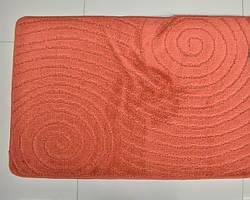 оранжевые коврики для ванной