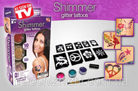 Блеск татуировки Shimmer Glitter Tattoos New  АКЦИЯ