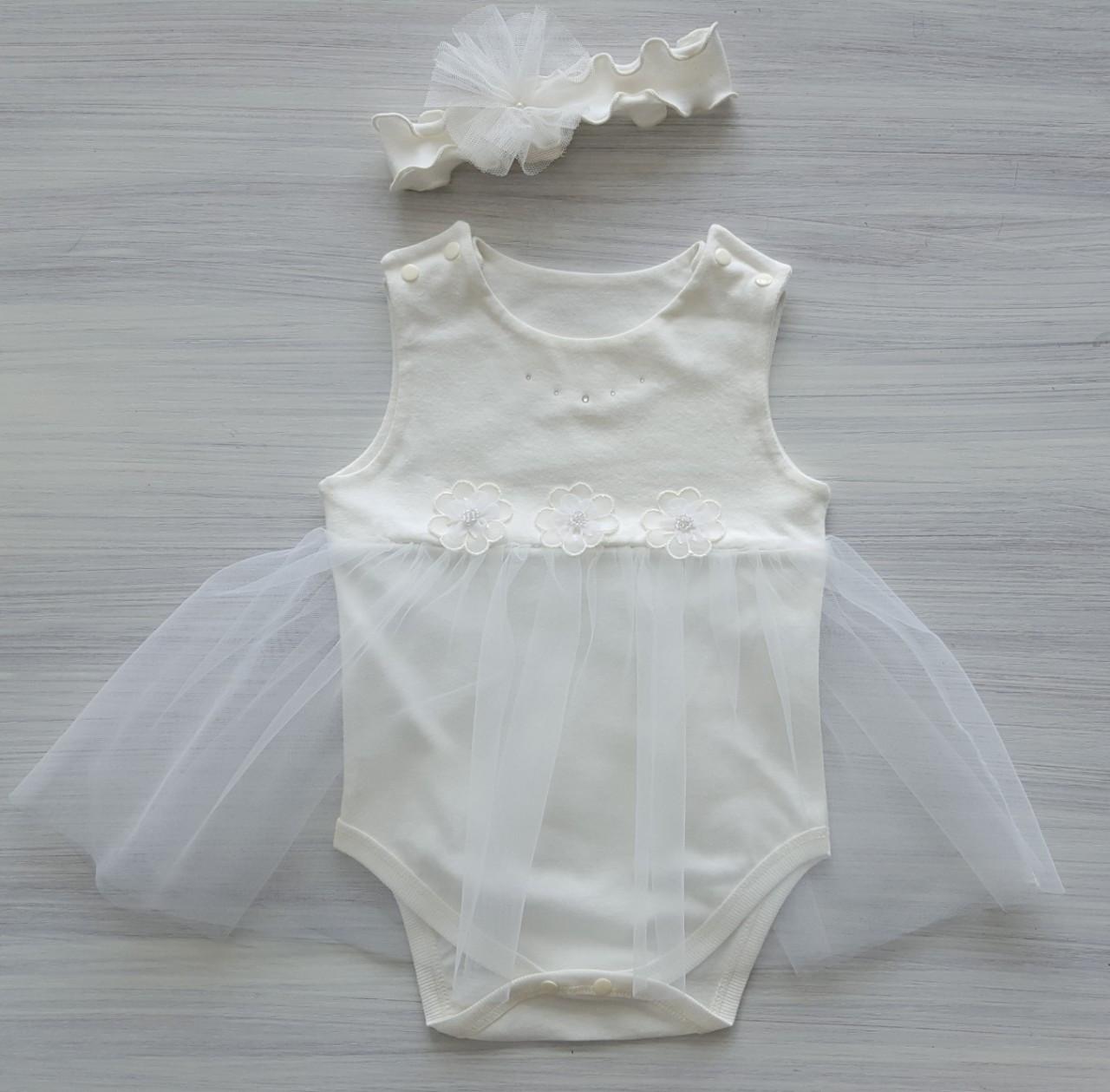 Боди-платье ТМ Happy Tot, размер 62, 68, 74, 80