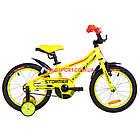 Детский велосипед Formula Stormer 16 дюймов желтый, фото 2