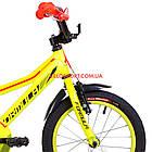 Детский велосипед Formula Stormer 16 дюймов желтый, фото 3