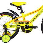 Детский велосипед Formula Stormer 16 дюймов желтый, фото 5