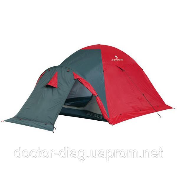 Ferrino Палатка Ferrino Aral 3 (4000) Red/Gray
