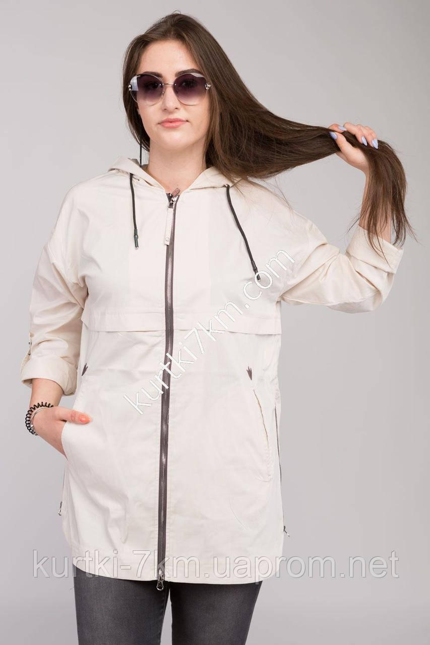 c50f263e Женские ветровки больших размеров POEM № 7812, цена 720 грн., купить Одеса  — Prom.ua (ID#522320344)