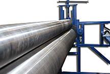 Валковый вырубной пресс с электро приводом для плоской высечки   Прокатно высечной станок  ПВМ1300, фото 2