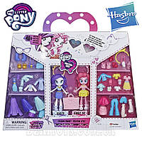 Набор Пони 2 Куклы 40 аксессуаров ПИНКИ ПАЙ и РАРИТИ My Little Pony