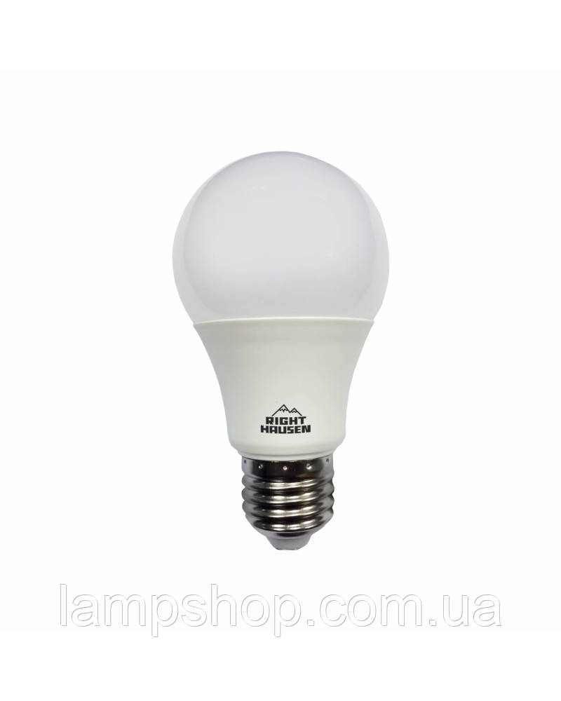 Лампа RIGHT HAUSEN LED Soft line A60 10W E27 4000K HN-251010